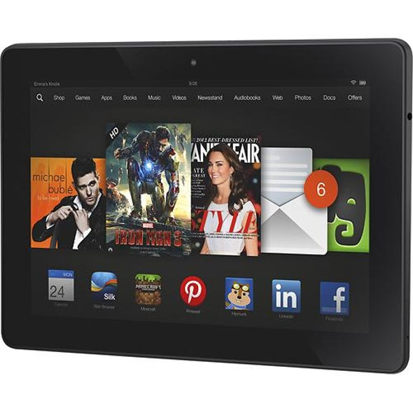 iPad Air topped by Kindle Fire HDX in display quality test