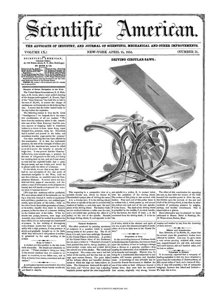 April 15, 1854