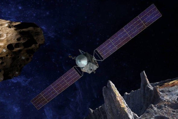 NASA Unveils New Missions to Bizarre Asteroids