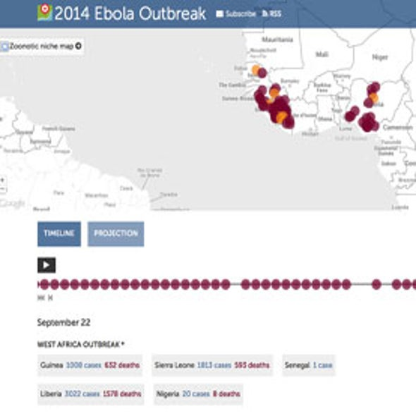 Smart Machines Join Humans in Tracking Africa Ebola Outbreak