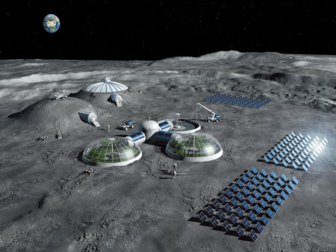 Come One, Come All: Building a Moon Village