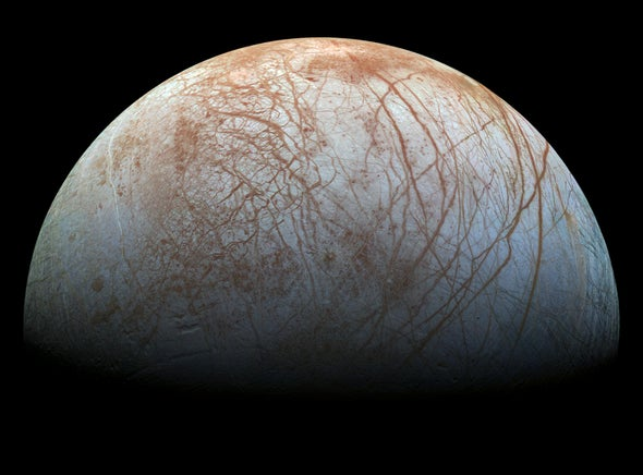 Water on Europa--with a Pinch of Salt