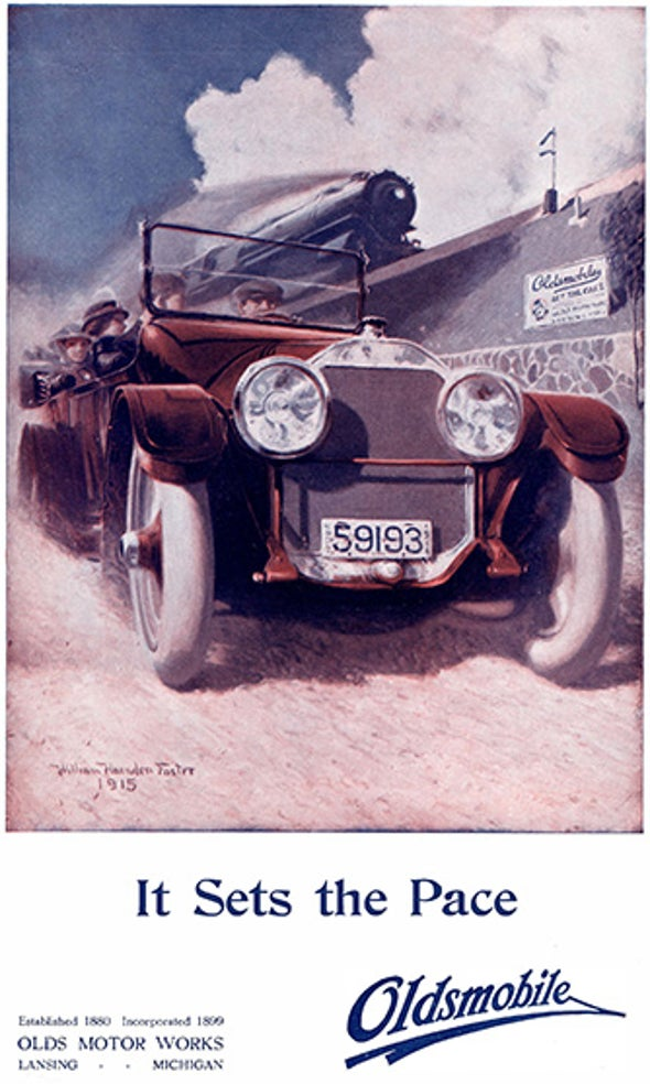 Motor Vehicles Change the World, 1915
