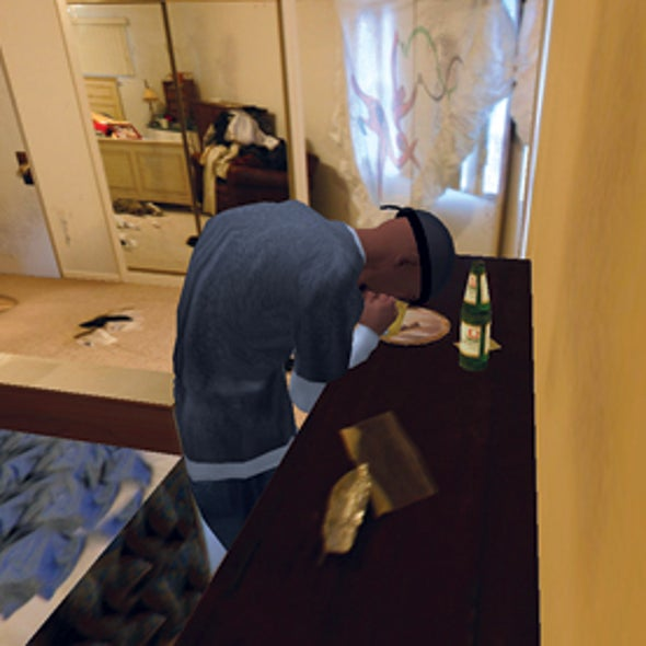 Craving a Cure: A Virtual Meth House Serves as Fodder for Addiction Studies