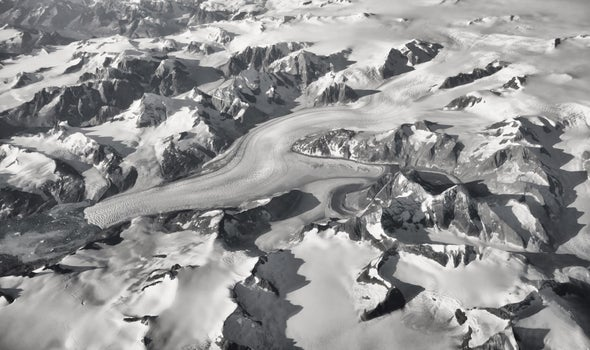 Satellite System Tracks Glaciers' Flow in Real Time