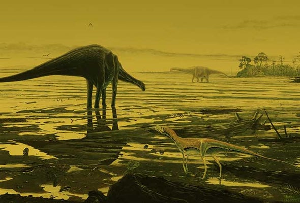 An Ancient Nessie? Long-Neck Dinos Once Prowled Scottish Lagoon