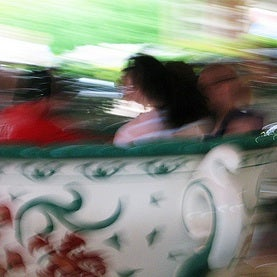 dizzy ride on the tea cups
