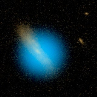 Ultraviolet Glow Betrays Impending Supernova