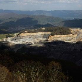 surface mining coal