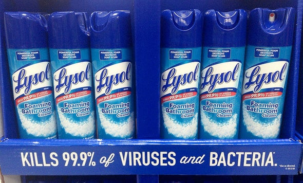 Germ-Killing Bathroom Sprays Appear to Weaken Fertility