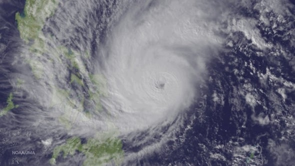 Hotter Ocean Waters Give Typhoons a Boost