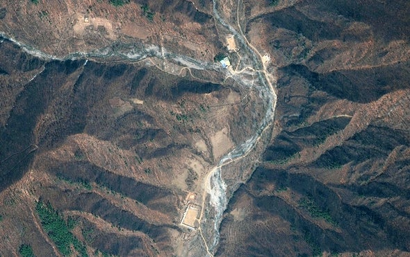 Nuclear Bomb Test Moved North Korea Mountain