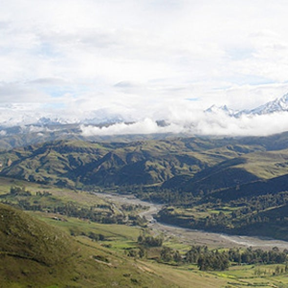 "For Peru's Rio Santa, Has ""Peak Water"" Already Passed?"