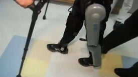 Bionic Suit Puts Paraplegics Back On Their Feet
