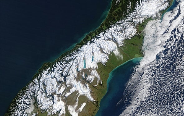 New Zealand's Alpine Fault Just Keeps Slipping