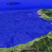WHAKATANE, NEW ZEALAND: Under one meter of sea level rise.