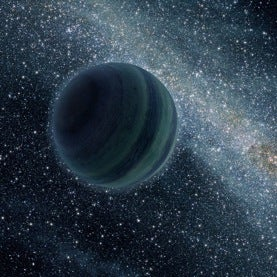 Free Worlds: Billions of Extra-Stellar Planetary Bodies May Be Adrift in the Galaxy
