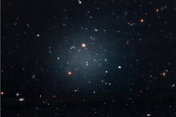 Astronomers Boggle at a Distant Galaxy Devoid of Dark Matter ...