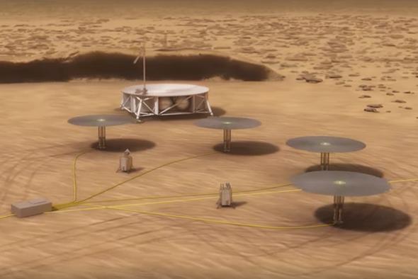 NASA Seeks Nuclear Power for Mars - Scientific American