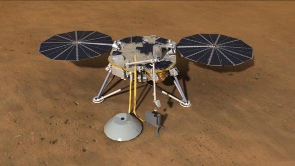 NASA's Next Mars Lander Will Peer Deep into Planet's History