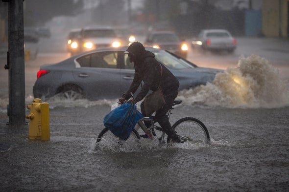 California's Droughts and Deluges Traced to Atmospheric Waves
