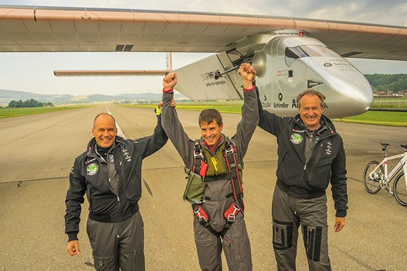 Solar Plane's Route for Around-the-World Flight Revealed
