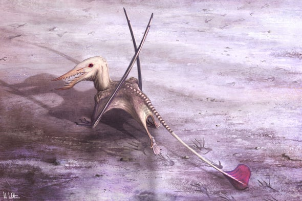 "Footprint Find Could Be a ""Holy Grail"" of Pterosaur Research"