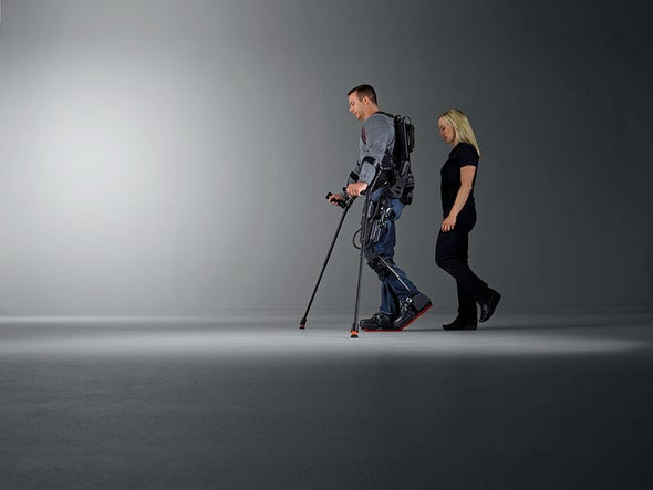 Robot Exoskeletons March in to Link Mind and Body