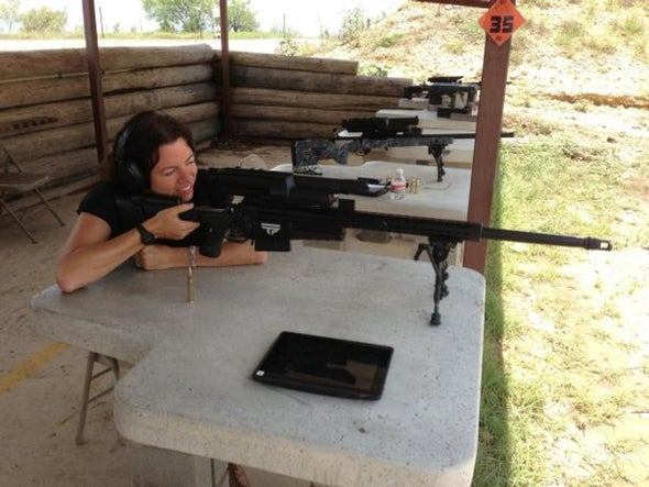 Now you're a sharpshooter: The smart rifle arrives