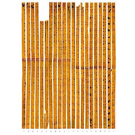 Bamboo Strips: When Assembled In Their Correct Order, These Calligraphied  Bamboo Strips Form A Table For Multiplying Numbers Up To 99.5 And Date Back  To ...
