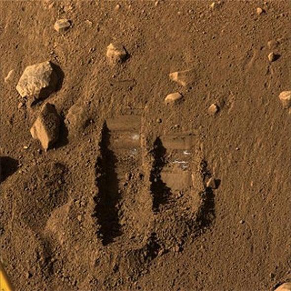 Martian Soil Shaken, Now Ready to Bake