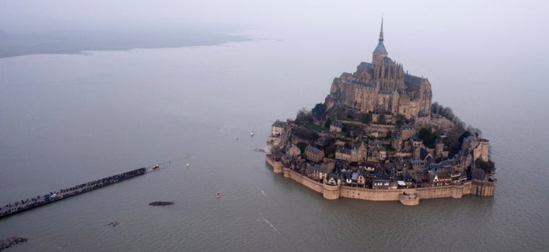 Explained: The Supertide That Swallowed a French Abbey