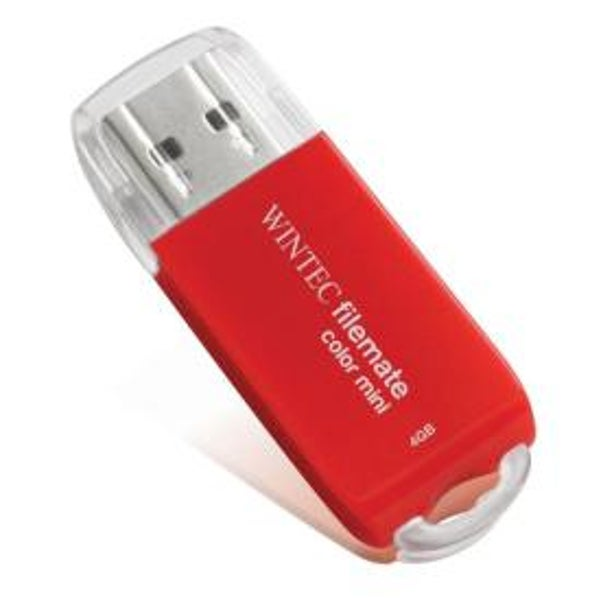 Get a free Wintec 4GB flash drive