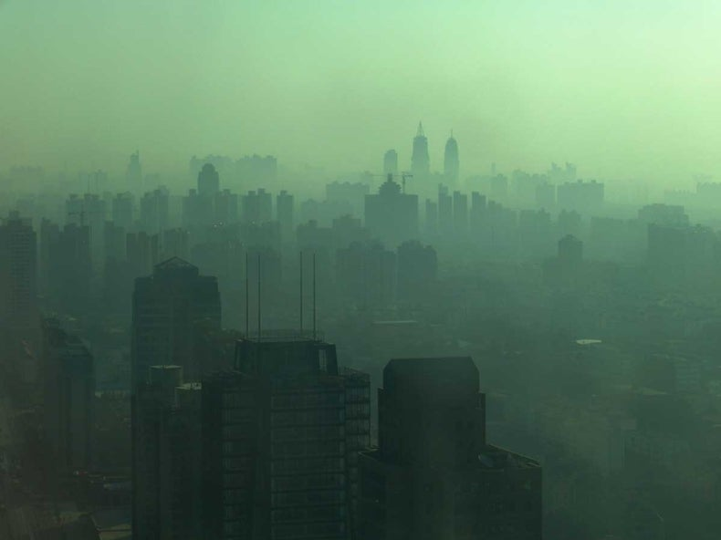 CO<sub>2</sub> Pollution Holds Steady as China's Economy Cools