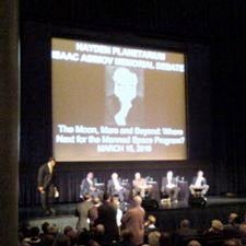Asimov debate at AMNH