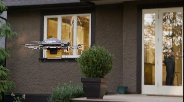 Drone Drop-Offs at Your Door Won't Happen until the FAA Delivers