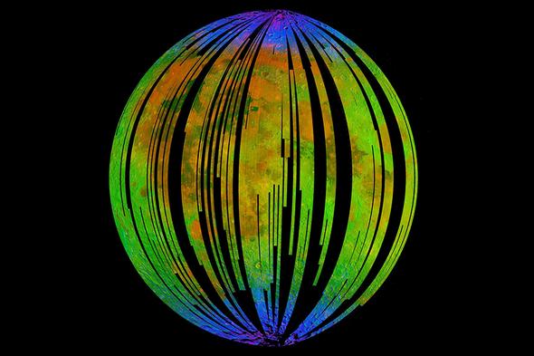 Mineral Found in Lunar Meteorite Hints at Hidden Moon Water
