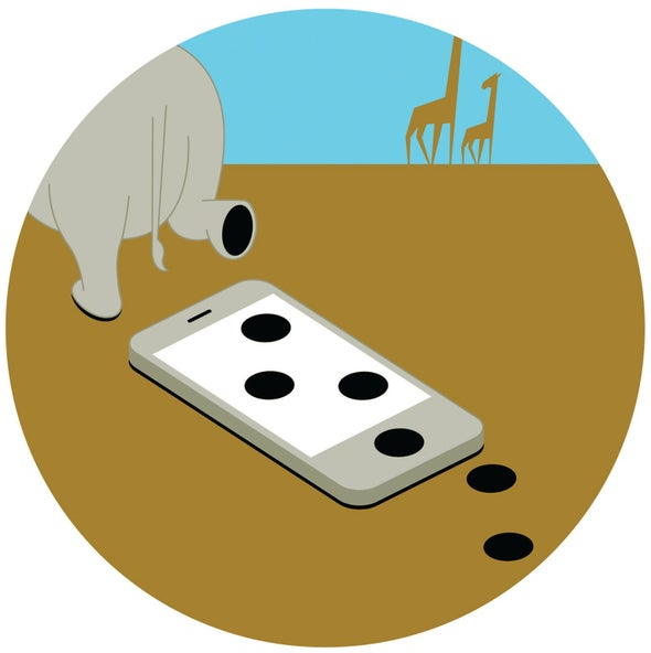 New App Tracks Black Rhinos through Their Footprints