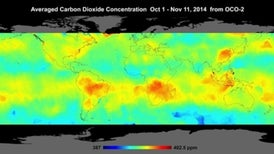 First Maps from Carbon-Monitoring Satellite Show Global CO2 Levels