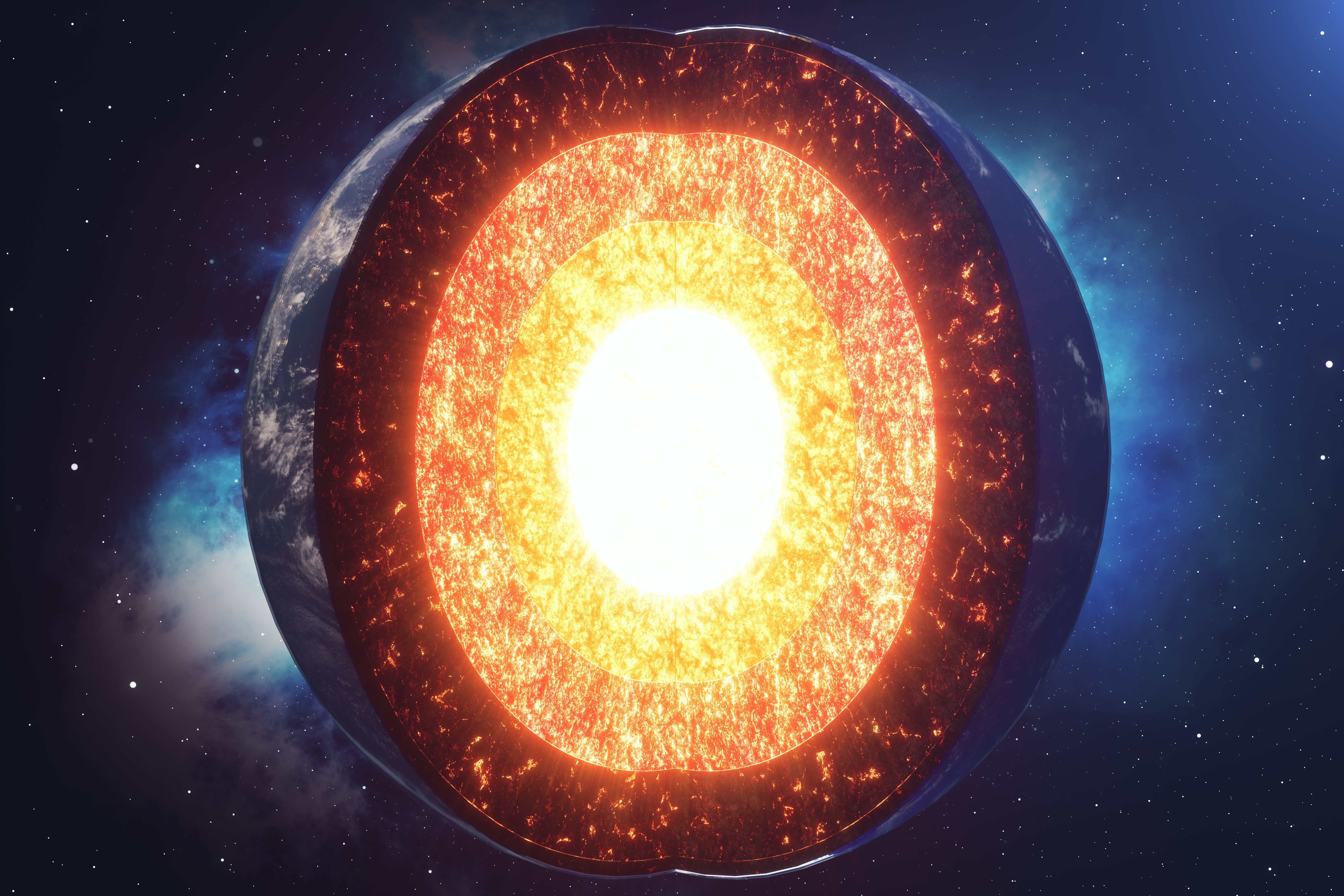 how have scientists been able to determine the composition of earths layers apex