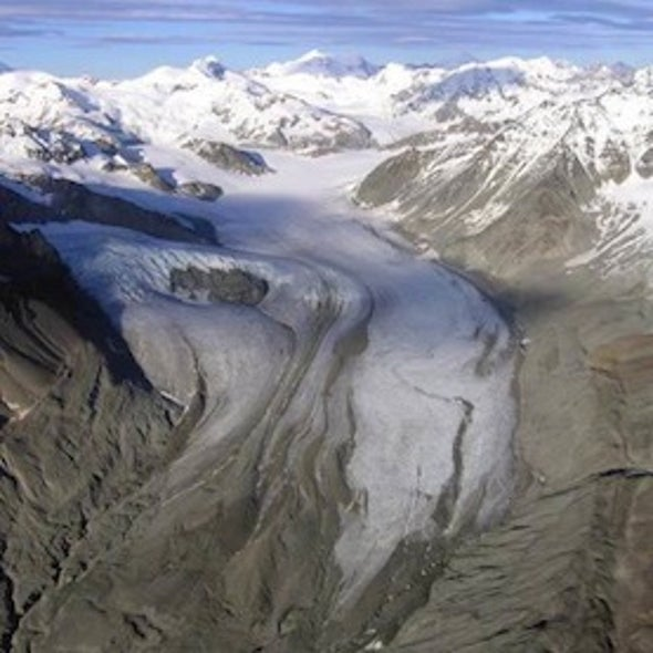 Carbon Dioxide Might Damage Glaciers
