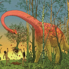 Dinosaurs in the Garden of Eden