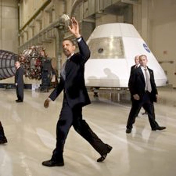 Obama's Goals for Space Exploration Include a Manned Mission to Mars Orbit in the 2030s