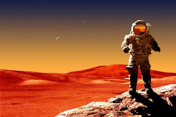 Spaceflight Squishes Spacefarers' Brains