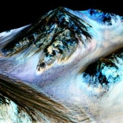 Water Flows on Mars Today, NASA Announces