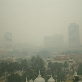 Hearts and Air Pollution: 5 Deadly Air Pollutants Measured on 5 Continents