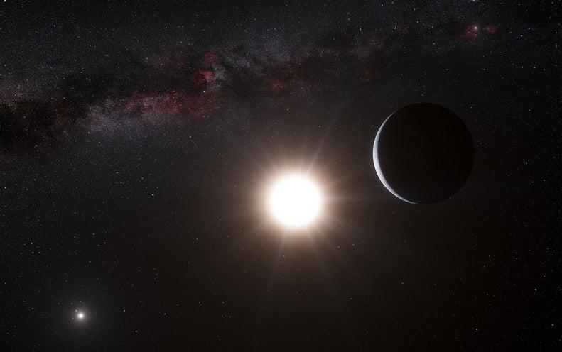 "Project Blue Sets Sights on ""Pale Blue Dots"" around Alpha Centauri"