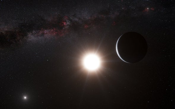 "Project Blue Sets Sights on ""Pale Blue Dots"" around Alpha Centauri"