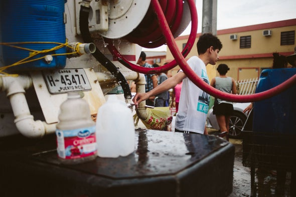 Puerto Rico's Water System Stutters Back to Normal
