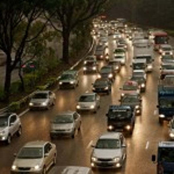Americans Driving Down Their Driving Miles